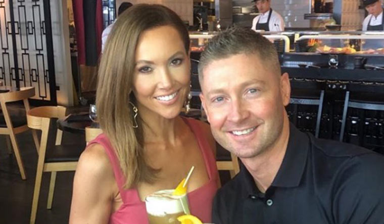 Michael Clarke and wife Kyly announce separation after seven years of marriage