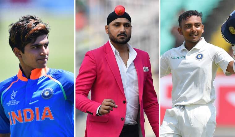 Harbhajan backs Shubman over Prithvi for 1st Test vs New Zealand