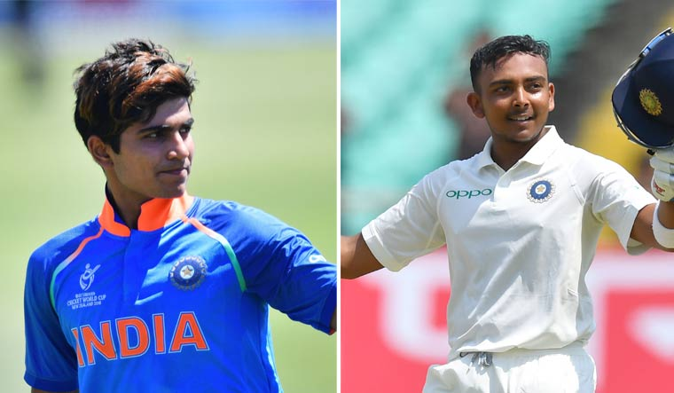 Shubman Gill says there is no fight for spot with Prithvi Shaw - The Week