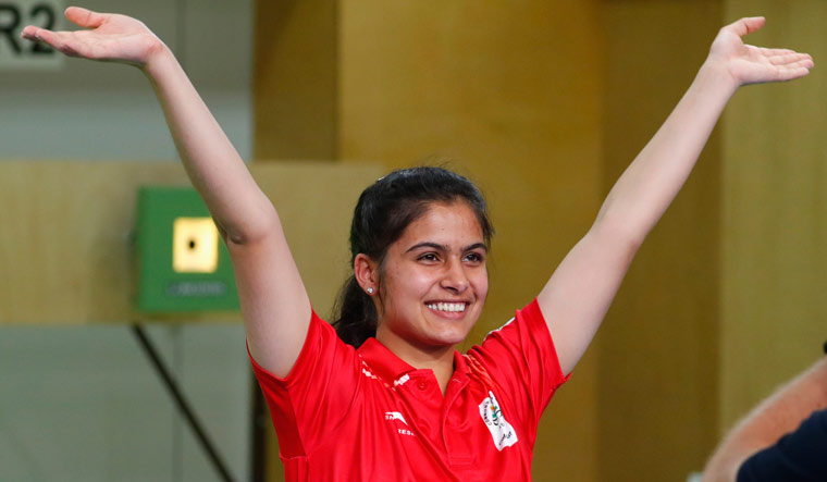 Manu Bhaker aims for calm, steady mind ahead of Tokyo Olympics