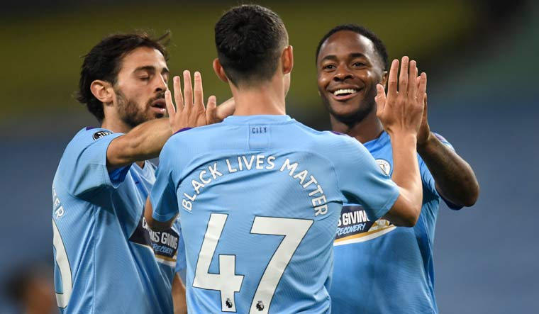 Manchester City Beat Arsenal In Muted Atmosphere As Premier League Returns The Week