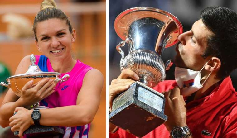 Halep Wins First Rome Title Djokovic Lifts Fifth Italian Open Trophy The Week