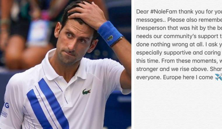 Djokovic Urges Fans To Stop Sending Death Threats To Line Judge The Week