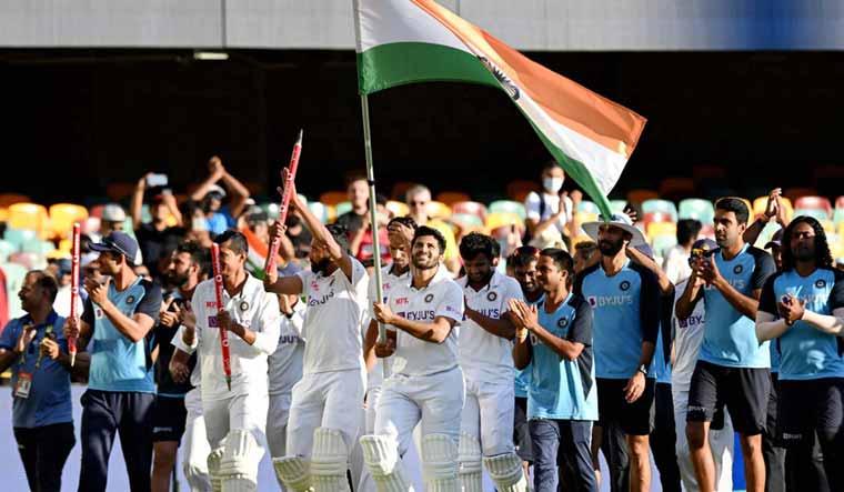 Rousing welcome for India's Rahane on return from Australia