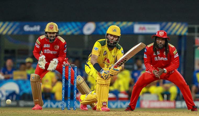 Moeen Ali of Chennai Super Kings play a shot   PTI