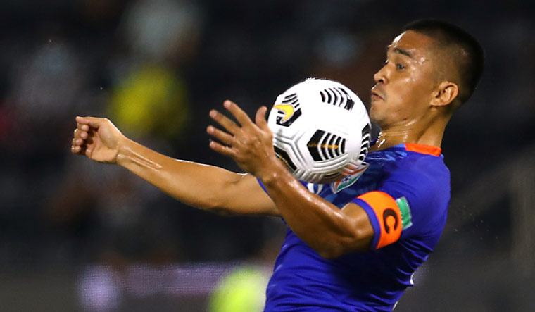 Chhetri needs one goal to enter all-time top-10, as India take on Afghanistan