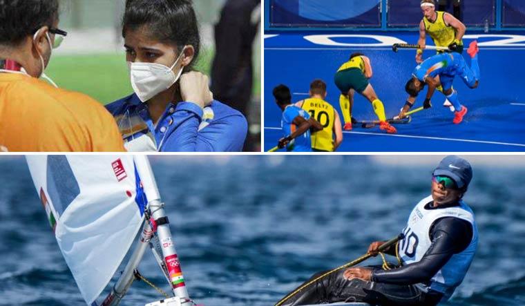 india-olympics-day2-manu-bhaker-hockey-manpreet-Nethra-Kumanan-pti