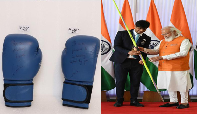 Auction bids for Chopra, Lovlina's Olympic equipment race to Rs 10 crore