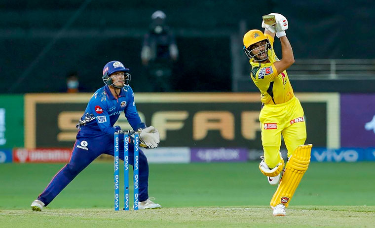 IPL 2021: Ruturaj's 88 and bowlers power CSK to 20-run win over MI