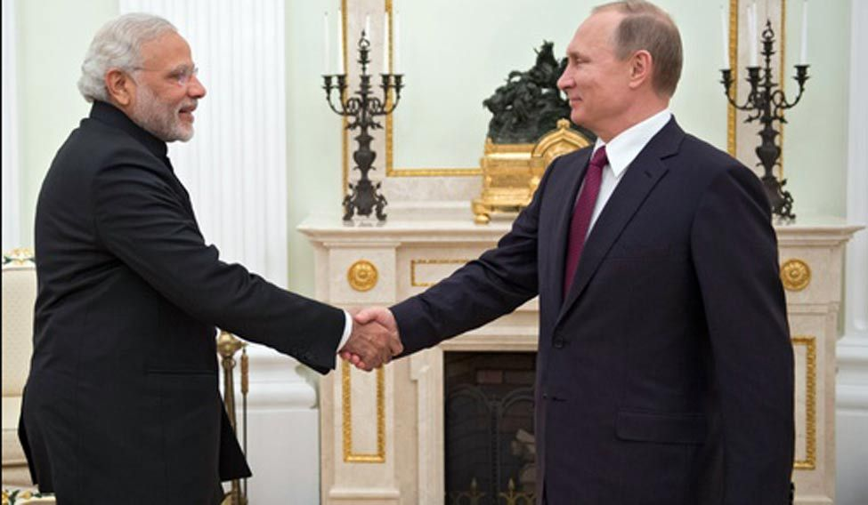Putin-Modi-Russia