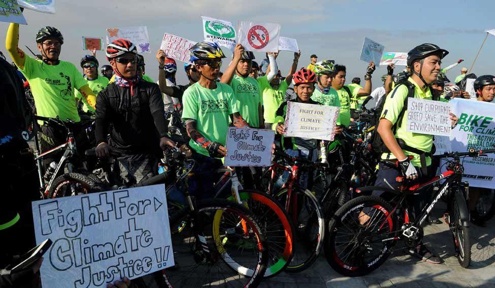 PHILIPPINES-CLIMATE-WARMING-UN-COP21