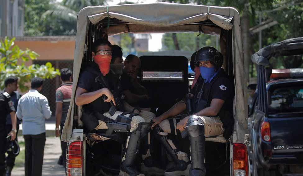Bangladesh Attackers Killed