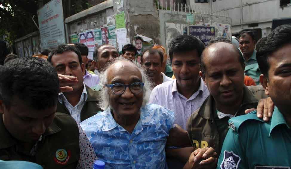 BANGLADESH-UNREST-MEDIA-PRESS-ARREST
