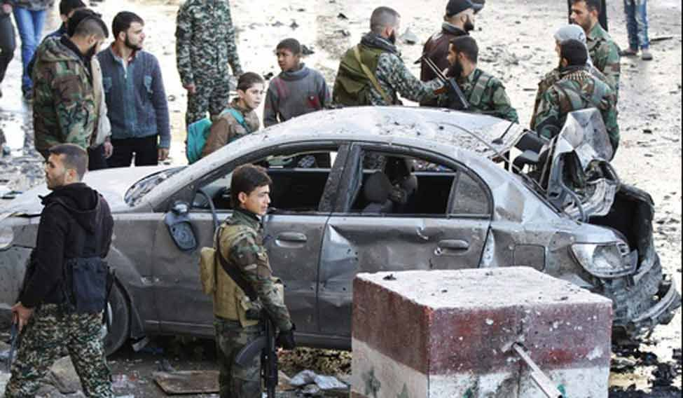Damascus-bombing