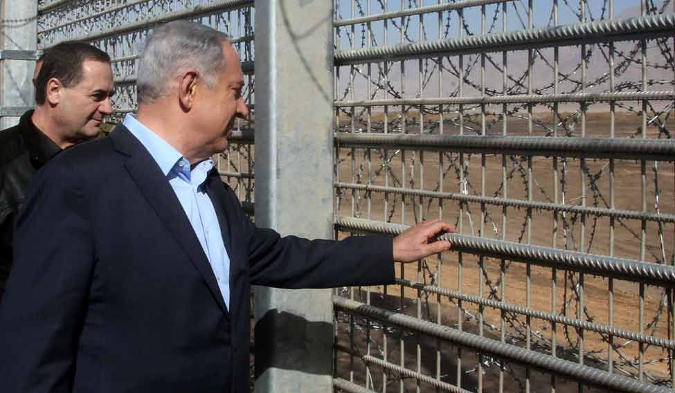 Israel-security-fence-AFP