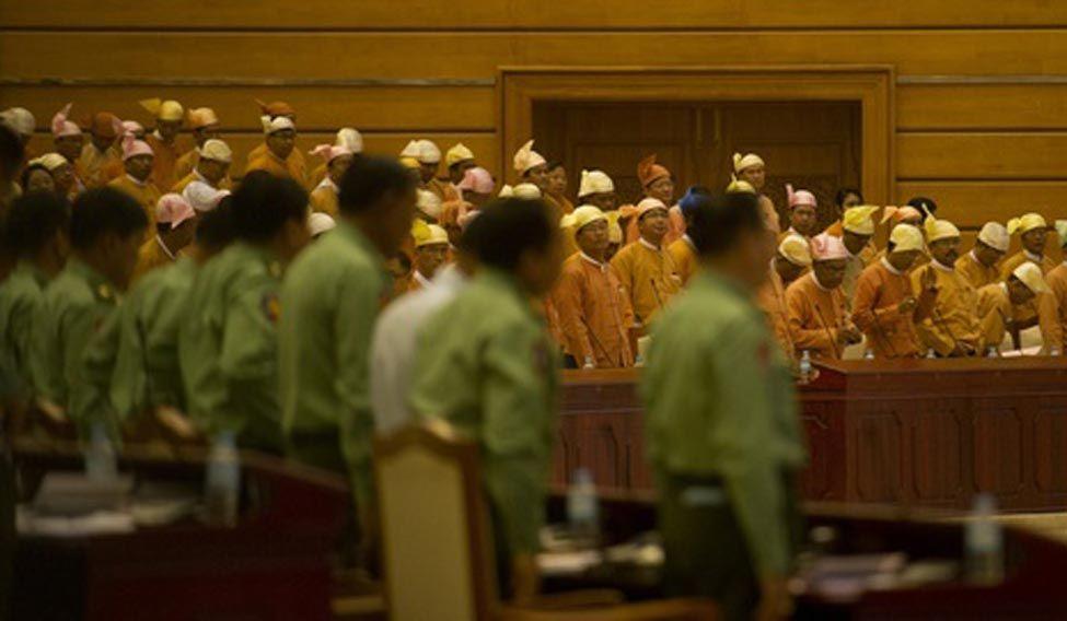 Myanmar-parliament
