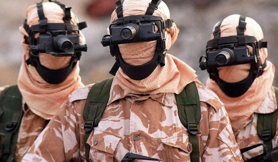 SAS-dummysoldier