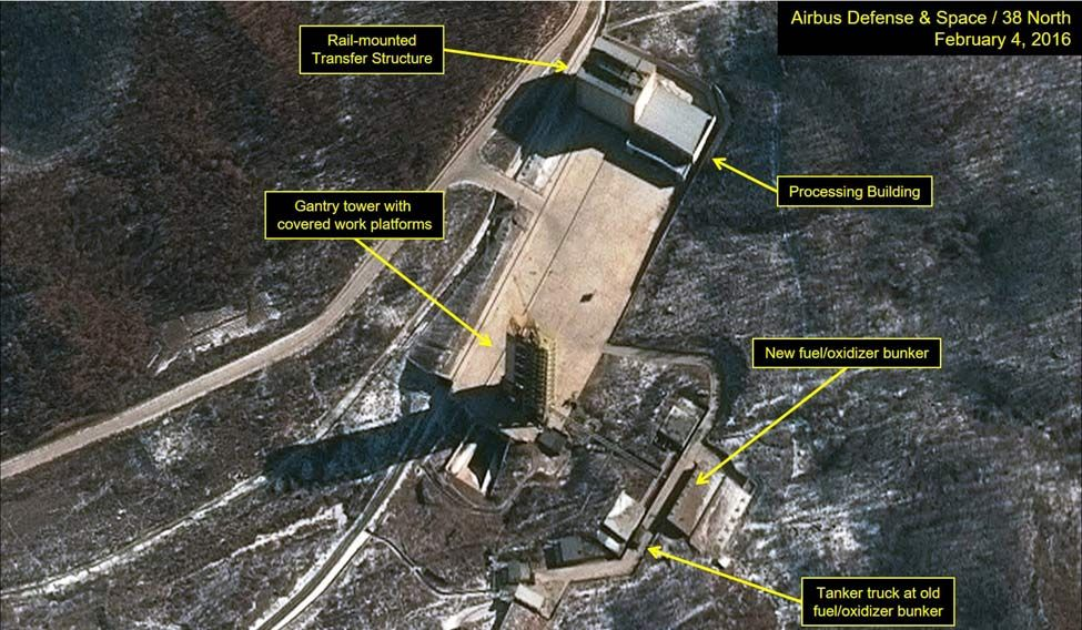 NORTHKOREA-SATELLITE/FUELING