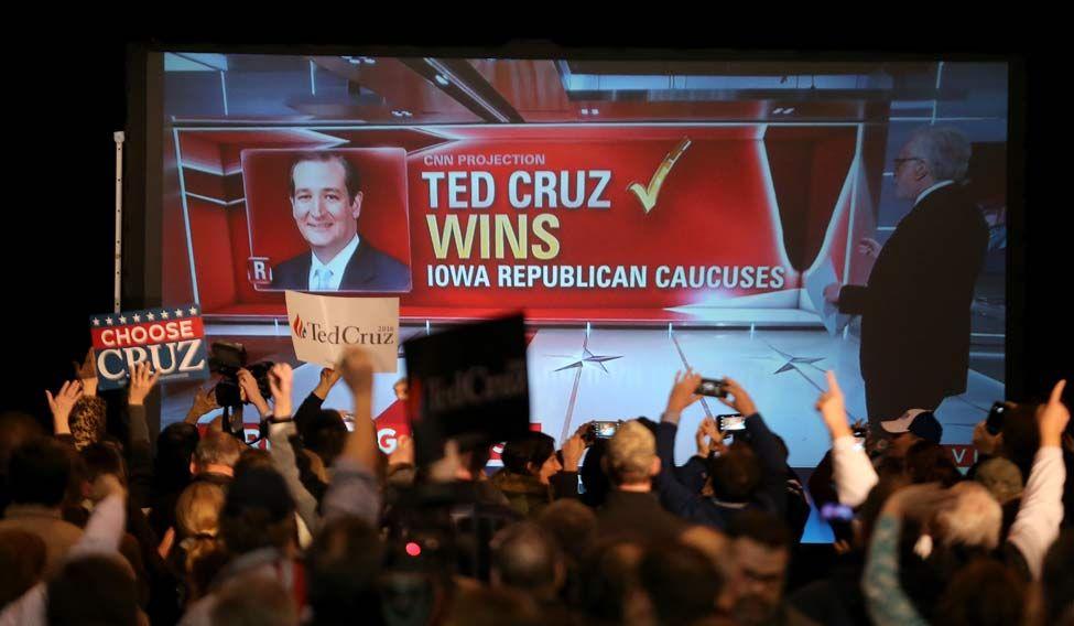 US-GOP-PRESIDENTIAL-CANDIDATE-SEN.-TED-CRUZ-(R-TX)-HOLDS-CAUCUS-