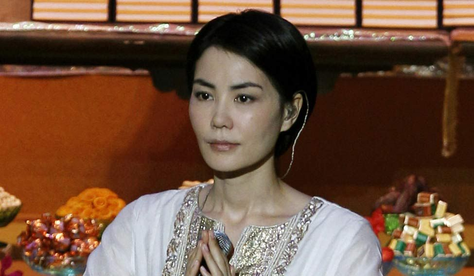 Hong Kong China Tibet Celebrities