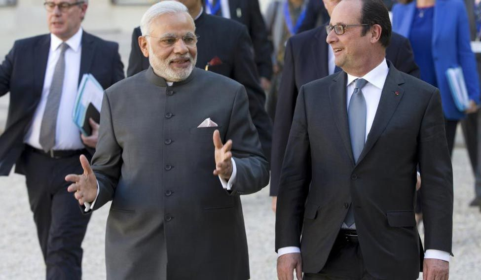 Modi-hollande-rafale