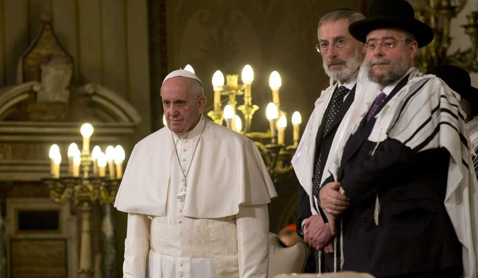 Pope-Synagogue