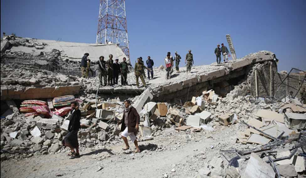 Saudi-led-airstrikes