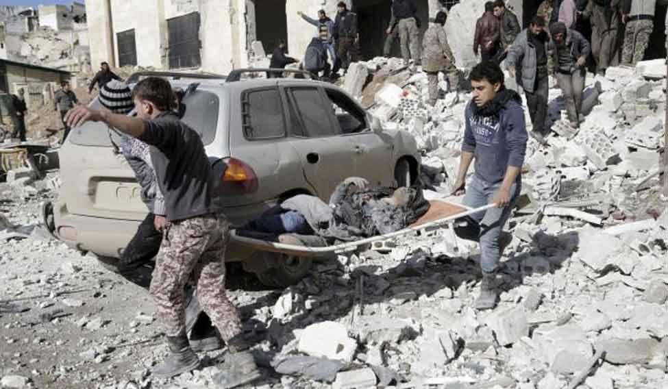 damascus-airstrike