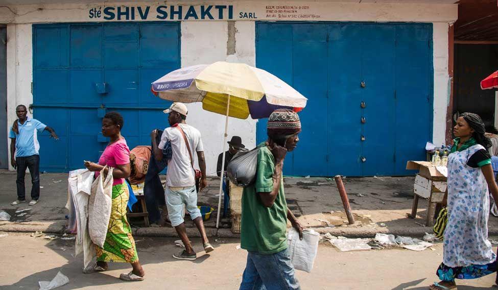 DRCONGO-INDIA-ECONOMY-UNREST