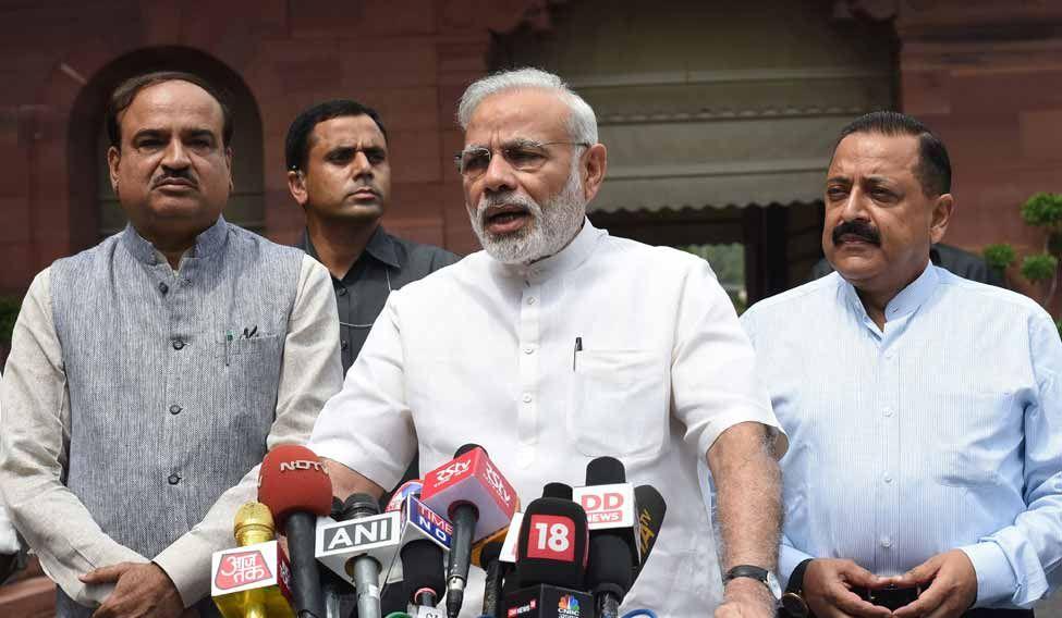 INDIA-POLITICS-PARLIAMENT-MODI