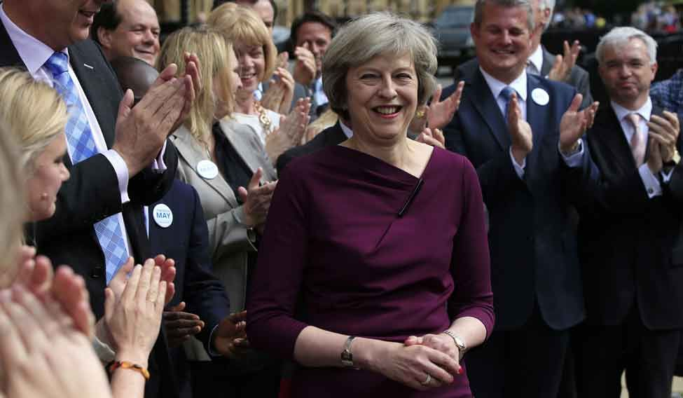 Britain's new Prime Minister Theresa May | AP