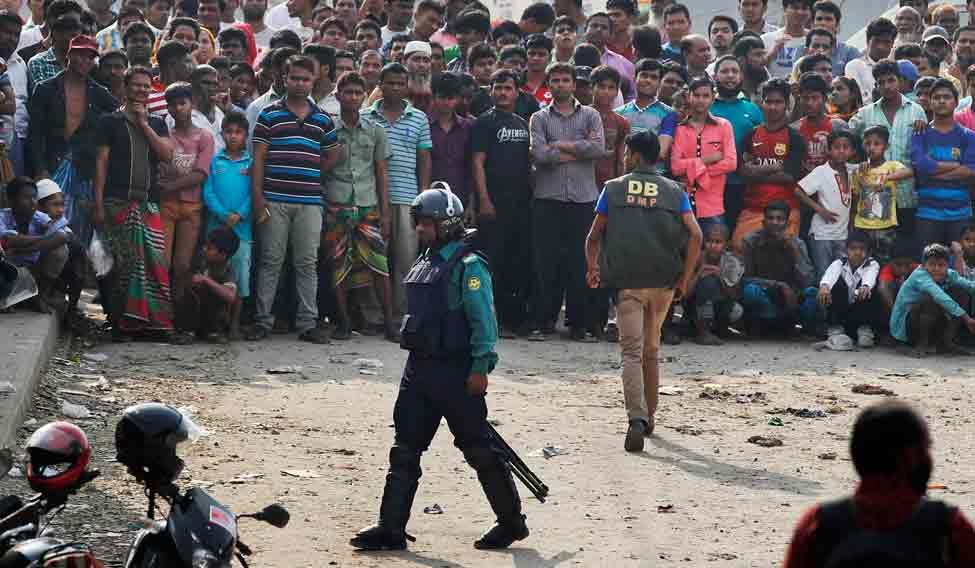 Bangladesh Crackdown