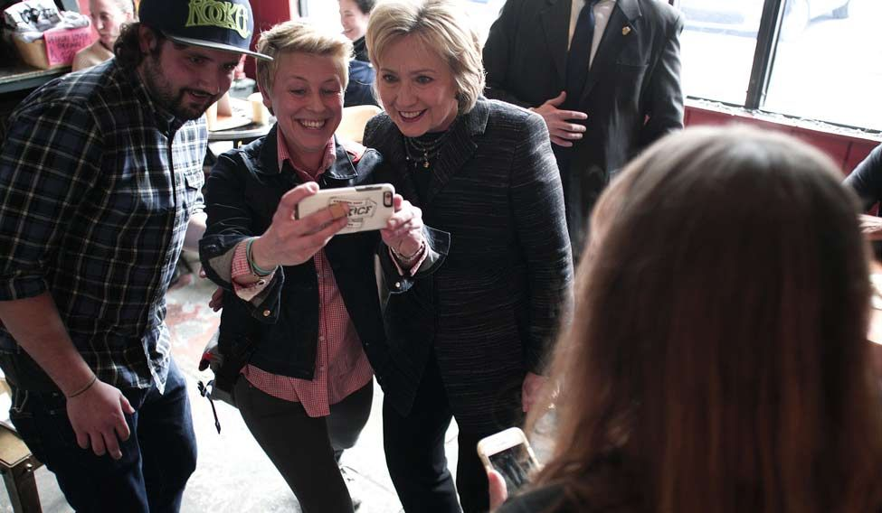 US-HILLARY-CLINTON-CAMPAIGNS-IN-DETROIT-ON-DAY-OF-MICHIGAN-PRIMA