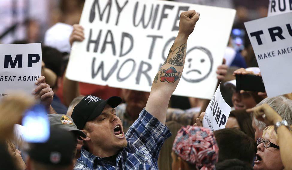 GOP 2016 Trump Protest