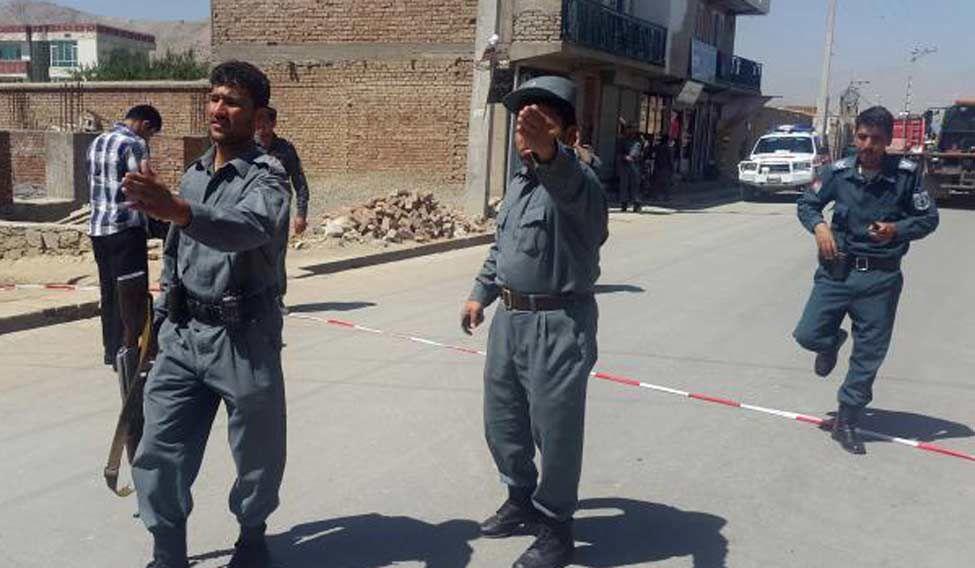 Afghan-cops