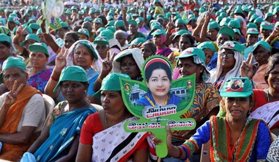 Jayalalithaa-supporters
