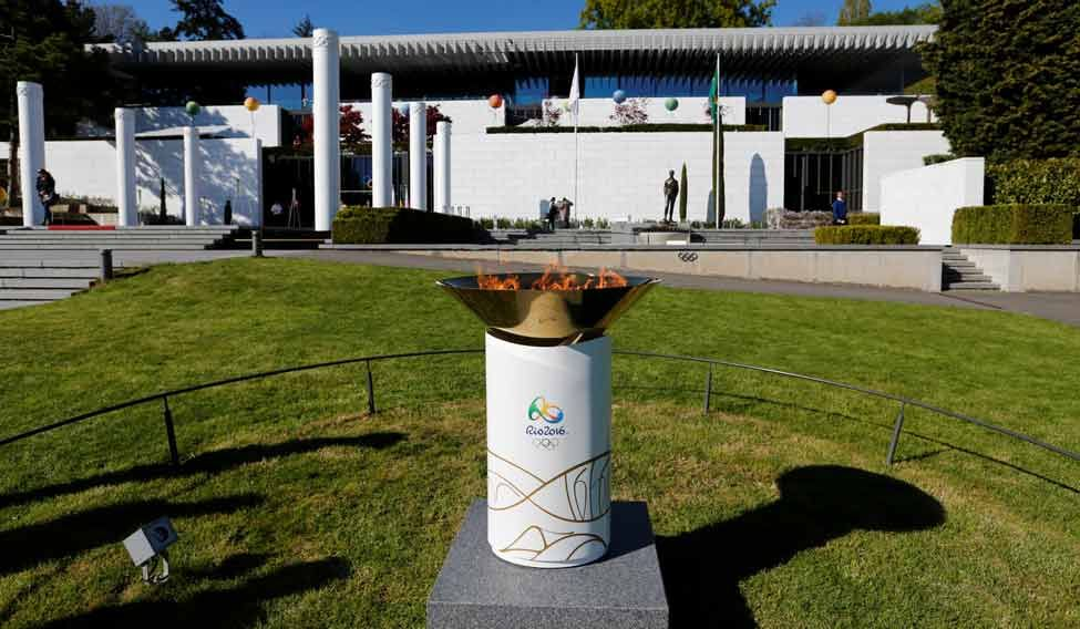 Olympics-flame-Rio-Reuters
