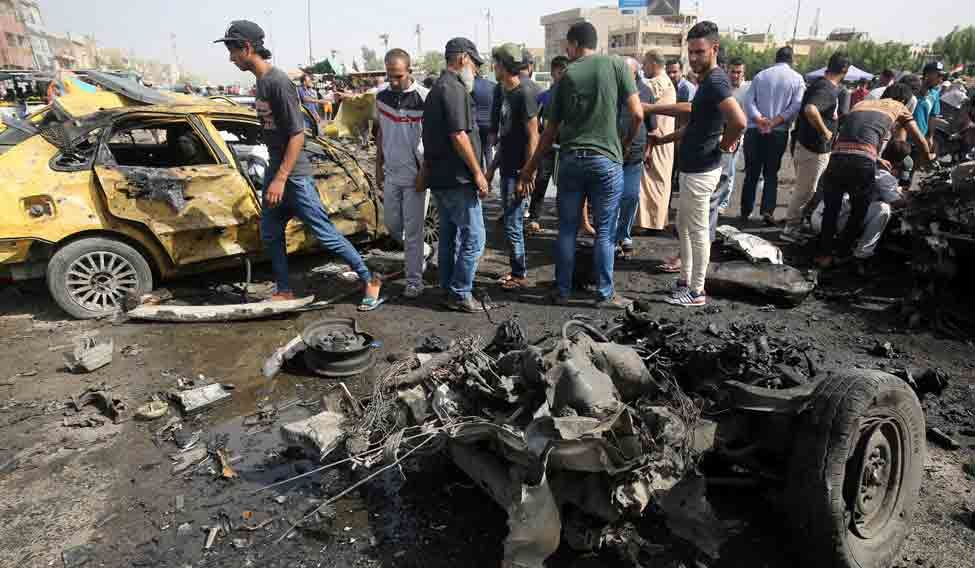 IRAQ-CONFLICT-BAGHDAD-BOMBINGS