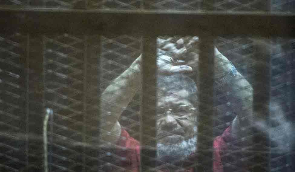 EGYPT-POLITICS-JUSTICE-TRIAL-MORSI