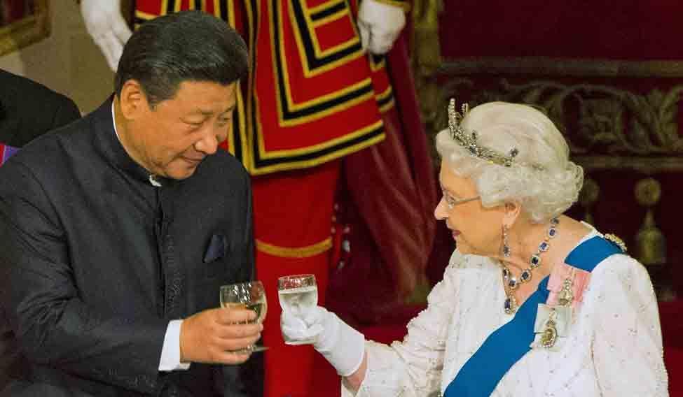 BRITAIN-QUEEN/CHINA