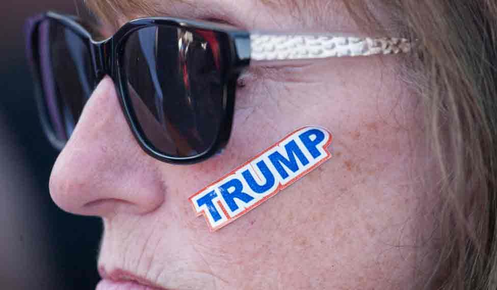 US-GOP-REPUBLICAN-CANDIDATE-DONALD-TRUMP-HOLDS-RALLY-IN-LYNDEN,-