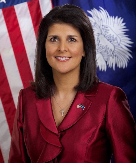 Nikki Haley first Indian American to get cabinet-level position