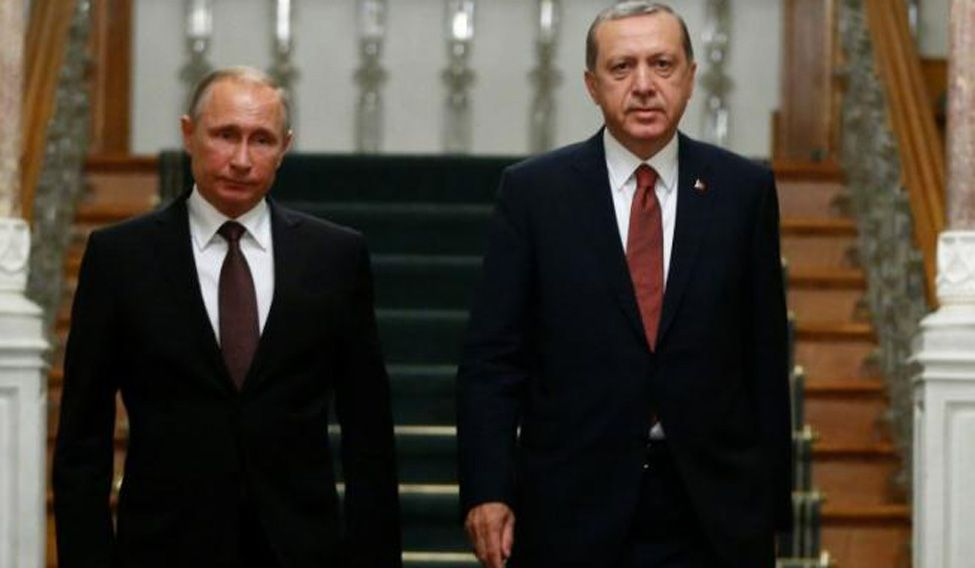 Russia, Turkey sign gas deal, seek common ground on Syria as ties warm
