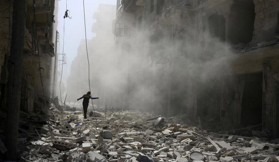 Airstrike-Aleppo