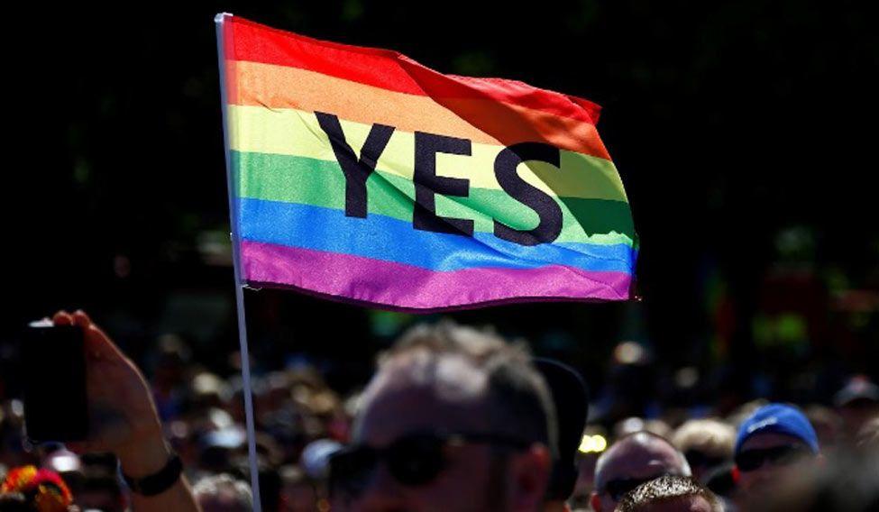 Rainbow celebrations as Australians vote for same-sex marriage