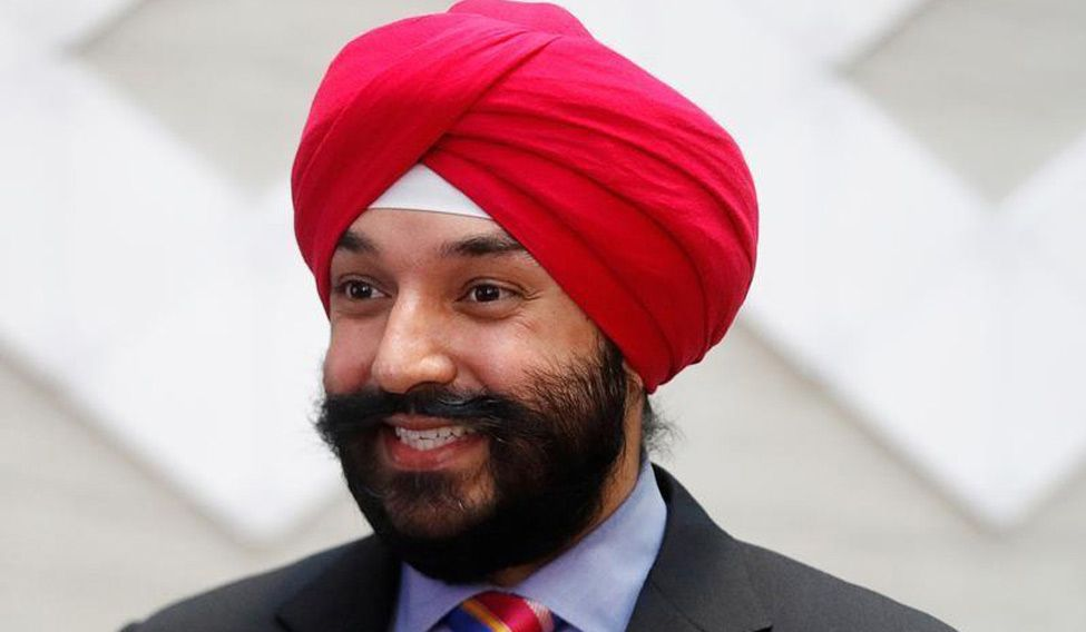Indian origin politicians in the current trudeau cabinet for Navdeep s bains