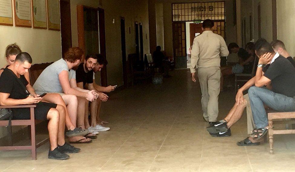 Five British men arrested for 'pornographic dancing' in Cambodia