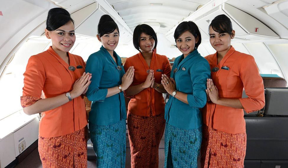 Indonesian Muslim Flight Attendants Told To Wear Headscarves