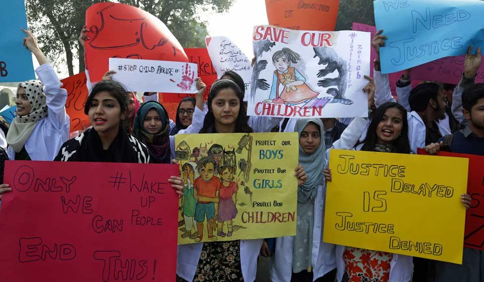 Pakistan Girl Killed