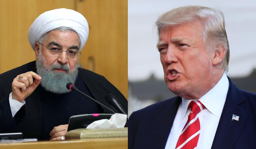 """""""Tramp ən zalım prezidentdir"""" – Ruhani"""